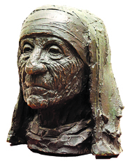 B. VITHAL - Sculpture-Volume - Mother Teresa