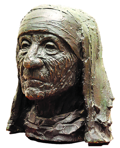 B. VITHAL - Escultura - Mother Teresa