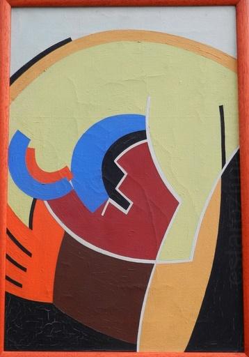 Frantisek HÜBEL - Painting - Hand