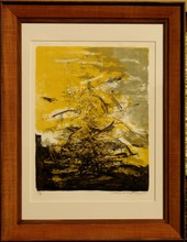 ZAO Wou-Ki - Print-Multiple - ABSTRACTION JAUNE