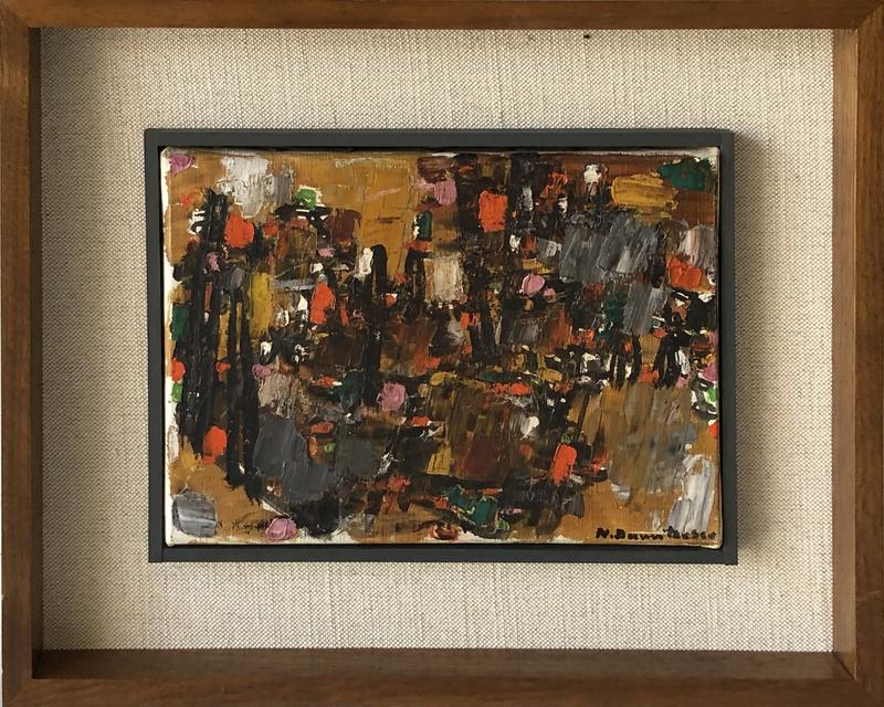 Natalia DUMITRESCO - Peinture - Abstract Composition