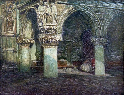 Rodolfo PAOLETTI - Pintura - Il giudizio di Salomone, Palazzo Ducale Venezia