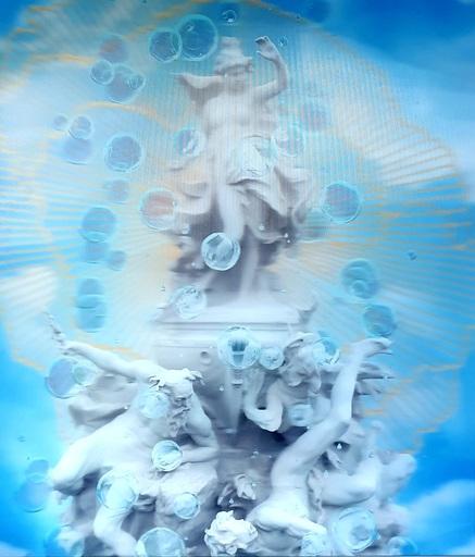 Olga TOBRELUTS - Painting - The Fountain