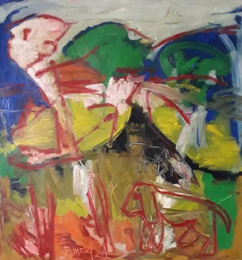 Bernard MOREL - Gemälde - PROMENADE