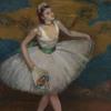 Louis KRONBERG - Pintura - Dancer in White with Bouquet