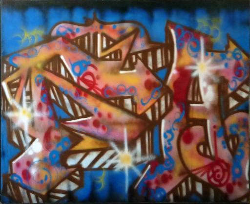 DELTA 2 - Painting - sans titre