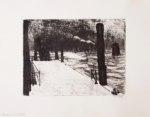 Emil NOLDE - Print-Multiple - Hamburg, Landungsbrücke