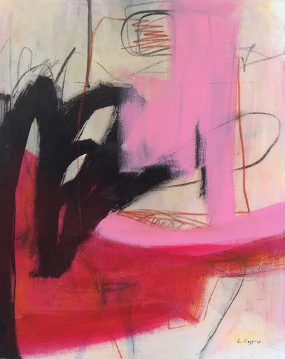Linda COPPENS - Painting - Relation 4