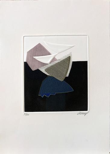 Bertrand DORNY - Grabado - Sans titre
