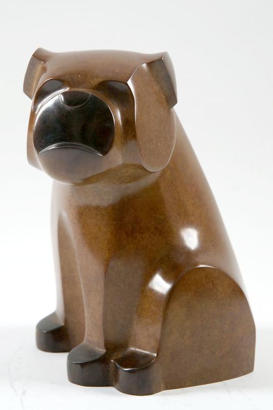 Gérard BOUDON - Sculpture-Volume - Bouledogue