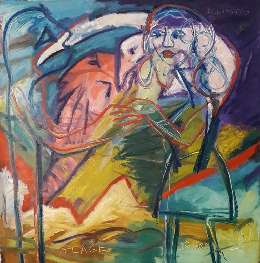 Bernard MOREL - Pintura - RENCONTRE