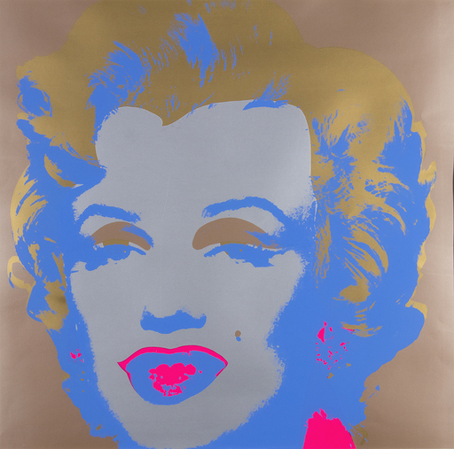 Andy WARHOL - Estampe-Multiple - Marilyn Sunday B. Morning- This is not by me, 1970