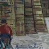 Elmyr DE HORY - Dessin-Aquarelle - Homage to Utrillo