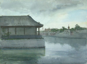 Pietro ANNIGONI - Painting - Paesaggio