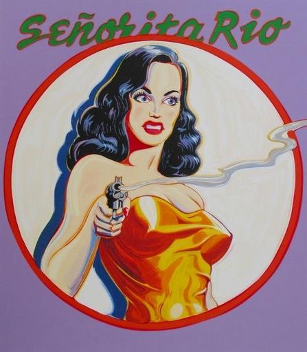 Mel RAMOS - Estampe-Multiple - Senorita Rio