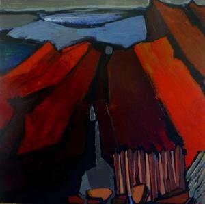 Jean MOIRAS - Painting - Série des parcs Américains