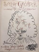 """巴勃罗•毕加索 - 版画 - """" Sala Gaspar """""""