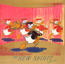 安迪·沃霍尔 - 版画 - The New Spirit (Donald Duck) (FS II.357)