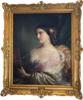 Franz Xaver WINTERHALTER - Pintura - Eugénie de Montijo