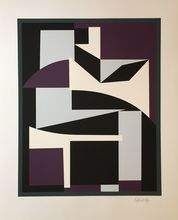 Victor VASARELY - Grabado - Without Title