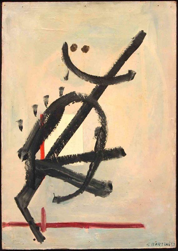 Gianni BERTINI - Painting - SENZA TITOLO