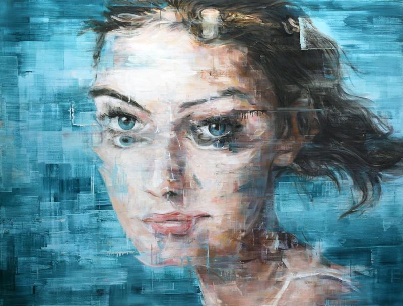 Harding MEYER - Pintura - o.T. (28-2015)