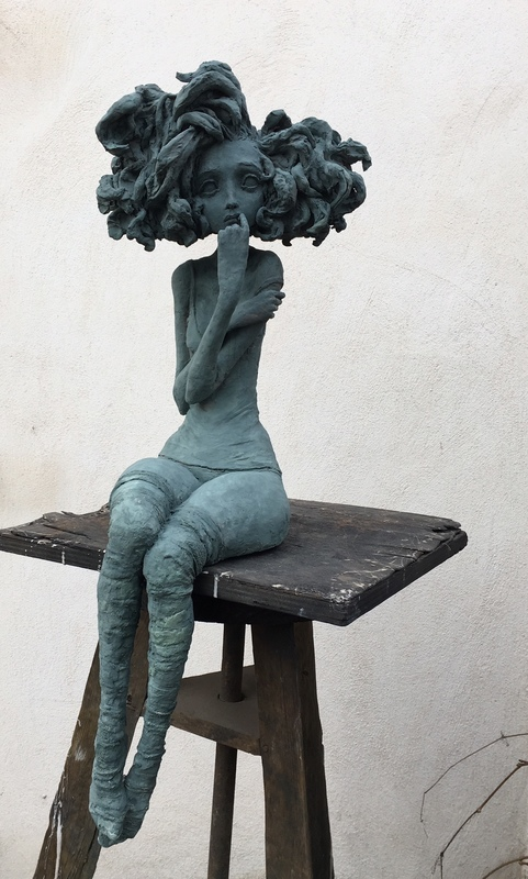 Valérie HADIDA - Sculpture-Volume - Rêveuse