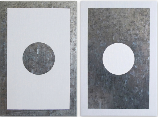 Daniel GÖTTIN - Gemälde - O3A-B, 2018 (Abstract painting)
