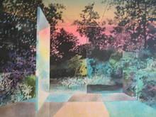 Pierre GARCIA-FONS - Grabado - La porte,1983.
