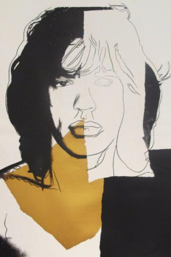 Andy WARHOL - Grabado - Mick Jagger #146