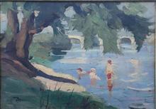 Pierre Eugène MONTEZIN - Painting - paysage