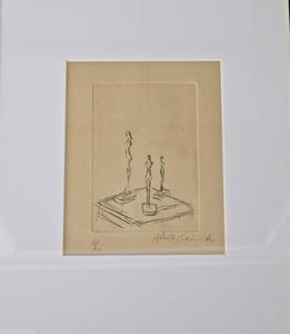 Alberto GIACOMETTI, Trois Figurines