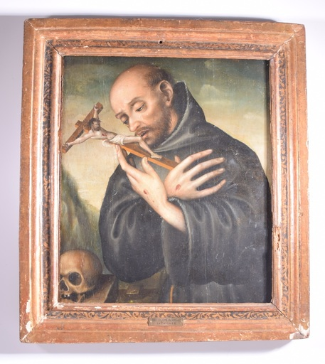 Bartolomeo BERMEJO - 绘画 - Sin titulo