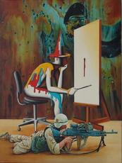Mark KOSTABI - Painting - Senza titoli