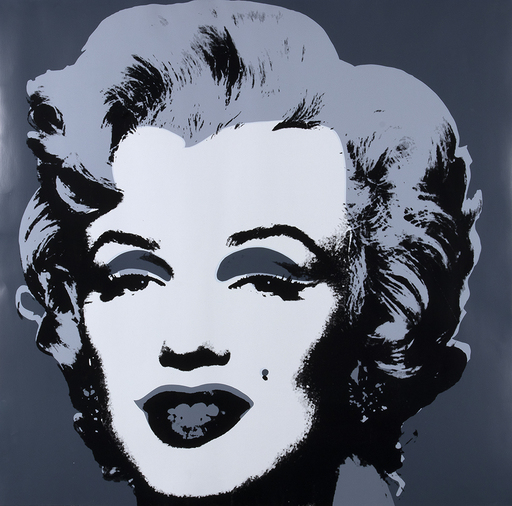 Andy WARHOL - Stampa Multiplo - Marilyn Sunday B. Morning- This is not by me, 1970
