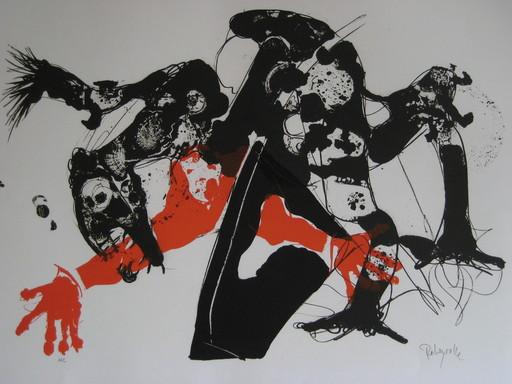 Paul REBEYROLLE - Druckgrafik-Multiple - LITHOGRAPHIE SIGNÉE CRAYON ANNOTÉE HC HANDSIGNED LITHOGRAPH