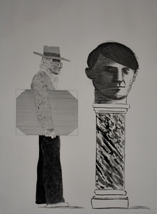David HOCKNEY - Print-Multiple - The Student, Homage to Picasso