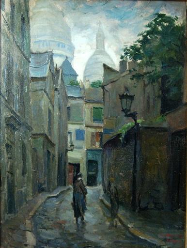 Louis P. SZANTO - Gemälde - Paris: Montmartre