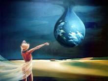 Gregor ZIOLKOWSKI - Gemälde - THE DROP
