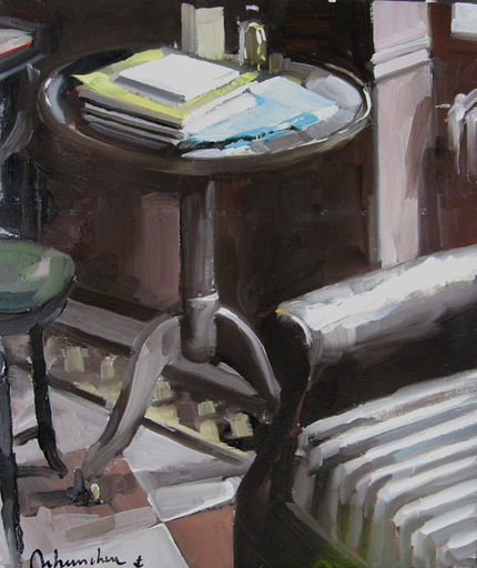 Christoff DEBUSSCHERE - Pintura - Le petit guéridon