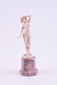 Johann Philipp Ferdinand PREISS - Escultura - Naked muse