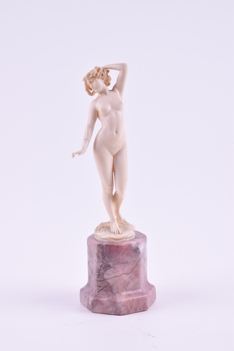 Johann Philipp Ferdinand PREISS - Sculpture-Volume - Naked muse