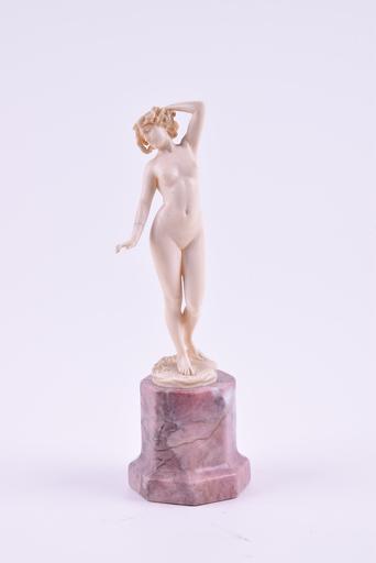 Johann Philipp PREISS - Escultura - Naked muse