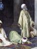 Enrico TARENGHI - Dessin-Aquarelle - المسلمون المخلصون يصلون في مسجد  Devout-Muslims-praying