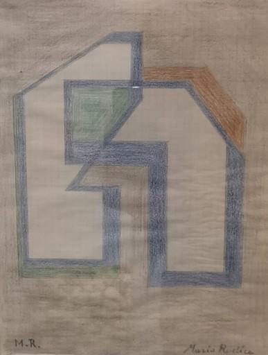 Mario RADICE - Disegno Acquarello - UNTITLED