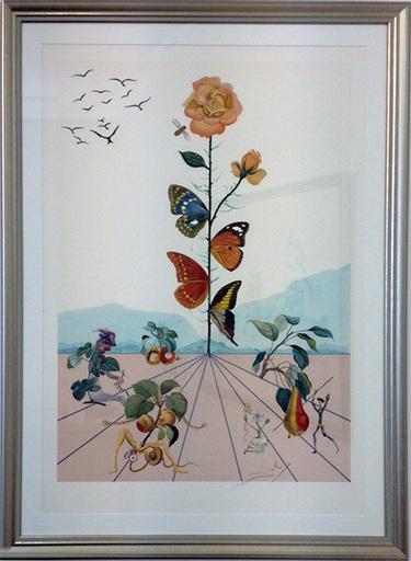 萨尔瓦多·达利 - 版画 - Flordali II