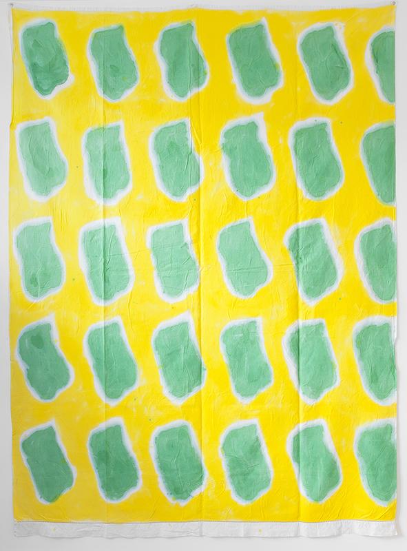 Claude VIALLAT - Peinture - Composition 339