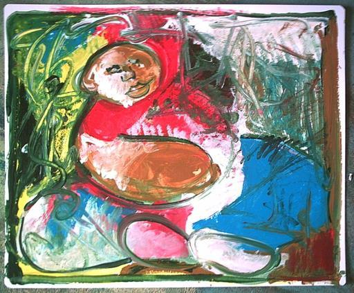 Bernard MOREL - Painting - GARCON