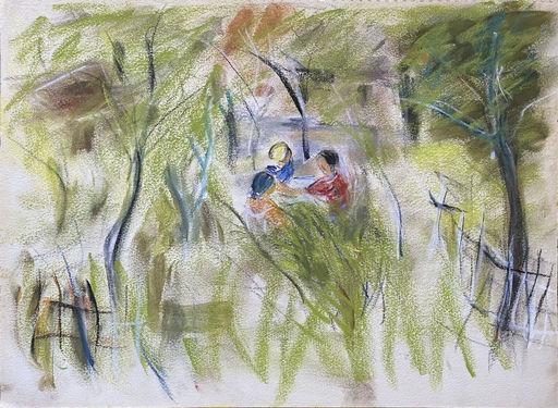 Raya SAFIR - Drawing-Watercolor - Les confidences