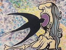 Salvador DALI (1904-1989) - L´HIRONDELLE (THE SWALLOW) LA JUNGLE HUMAINE
